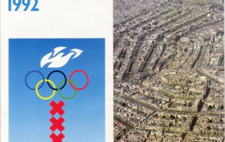 Amsterdam heading for the Olympic games in the Netherlands 1992 [1986]. OTM: HB-KZL VI 12 D 1 (87)