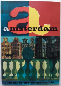 Amsterdam. Capital of The Netherlands. 1962. Ontwerp: N. Platvoet.